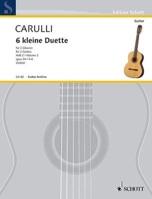 6 Kleine Duette op. 34 – Heft 2 - laflutedepan.com