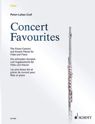 Peter-Lukas Graf - Concert Favorites - Flute and Piano - Sheet Music - di-arezzo.com