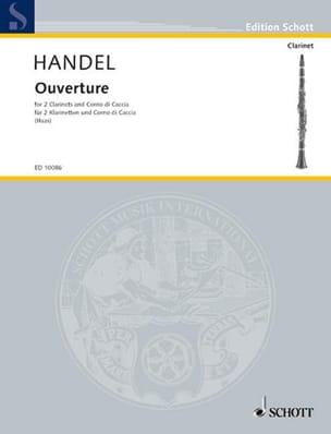 HAENDEL - Horario de apertura - 2 Klarinetten Corno di Caccia - Partitura - di-arezzo.es
