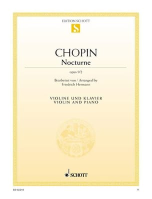 CHOPIN - Nocturne op. 9 n ° 2 - Sheet Music - di-arezzo.co.uk