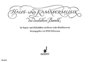 Haus– und Kammermusik des Deutschen Barock –Sopr– u. Altbloflöten Klavier - laflutedepan.com