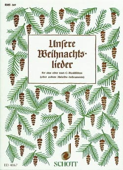 Unsere Weihnachtslieder - Partition - laflutedepan.com