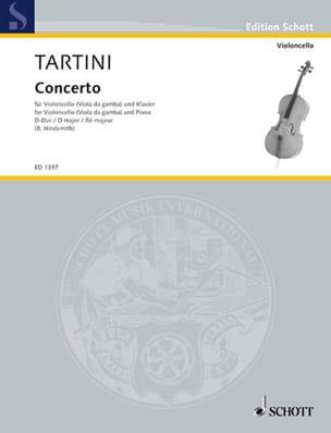 Concerto en ré majeur - Giuseppe Tartini - laflutedepan.com