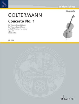 Georg Goltermann - Concerto No. 1 op. 14 in A minor - Partition - di-arezzo.co.uk