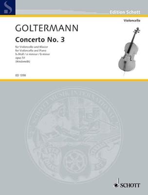 Georg Goltermann - Concerto No. 3 If Minor Opus 51 - Sheet Music - di-arezzo.co.uk