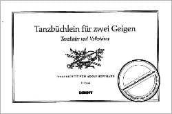 Tanzbüchlein für 2 Geigen - Adolf Hoffmann - laflutedepan.com