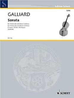 Johann Ernst Galliard - Sonata Nr. 3 F-Dur –Basson ou violoncelle et Basse continue/ - Partition - di-arezzo.fr