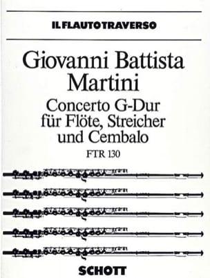 Concerto G-Dur - Flöte Klavier Giovanni Battista Martini laflutedepan