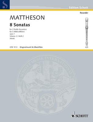8 Sonatas op. 1 - Heft 2 – 3 Altblockflöten - laflutedepan.com