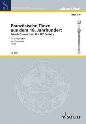 - Französische Tänze - 2 Blockflöten - Sheet Music - di-arezzo.co.uk