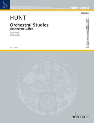 Edgar Hunt - Orchestral studies for recorder - Sheet Music - di-arezzo.co.uk