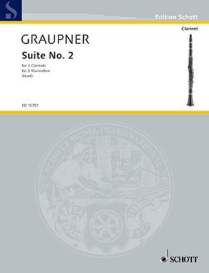 Suite N° 2 - Christoph Graupner - Partition - laflutedepan.com