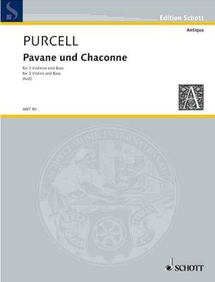 Pavane und Chaconne -3 Violinen u. Bass - Partitur + Stimmen laflutedepan