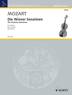 MOZART - Die Wiener Sonatinen - Sheet Music - di-arezzo.co.uk