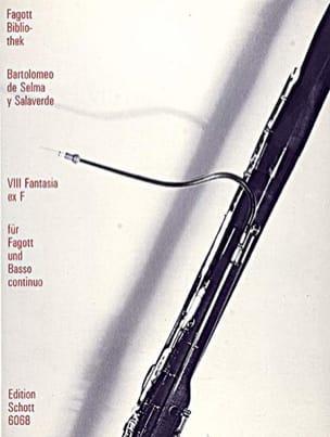 Y Salaverde Bartolomeo De Selma - VIII Fantasia ex F - Sheet Music - di-arezzo.co.uk
