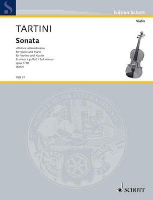 Giuseppe Tartini - Sonata Didone abbandonata op. 1 n ° 10 - Sheet Music - di-arezzo.co.uk