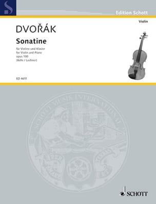 DVORAK - Sonatine Op. 100 - Sheet Music - di-arezzo.com