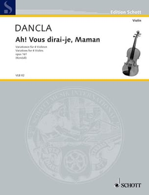 Charles Dancla - Ah! will I tell you, Mother op. 161 - Sheet Music - di-arezzo.co.uk