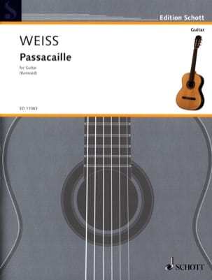 Silvius Leopold Weiss - passacaglia - Sheet Music - di-arezzo.co.uk