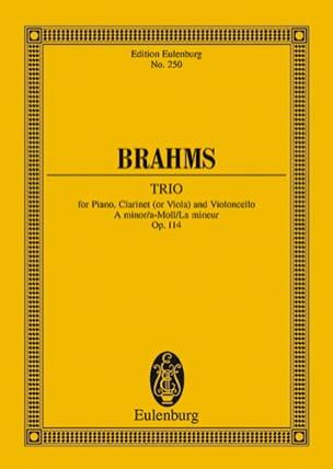 Trio A-Moll, Op. 114 (La Min.) - Conducteur - laflutedepan.com