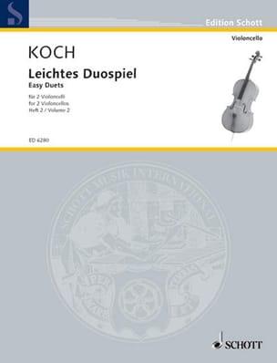 Edwin Koch - Leichtes Duospiel für 2 Violoncelli, Bd 2 - Partition - di-arezzo.fr