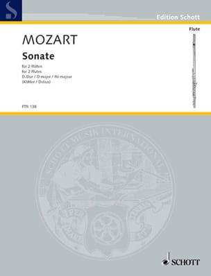 Sonate D-Dur - 2 Flöten - laflutedepan.com