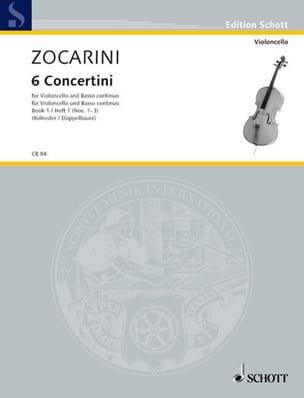 Matteo Zocarini - 6 Concertini, Heft 1 No. 1-3 - Sheet Music - di-arezzo.co.uk