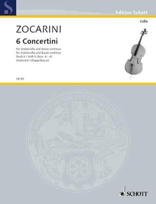 6 Concertini, Heft 2 n° 4-6 Matteo Zocarini Partition laflutedepan