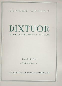 Dixtuor Parties Claude Arrieu Partition Sextuors - laflutedepan