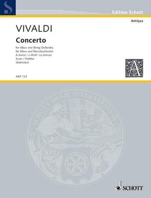 VIVALDI - Concerto a-moll for Oboe PV 42 - Partitur - Sheet Music - di-arezzo.co.uk