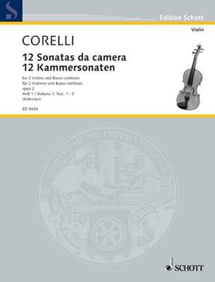 CORELLI - 12 Kammersonaten op. 2 - Bd. 1 - 2 Violinen u. Bc - Sheet Music - di-arezzo.com
