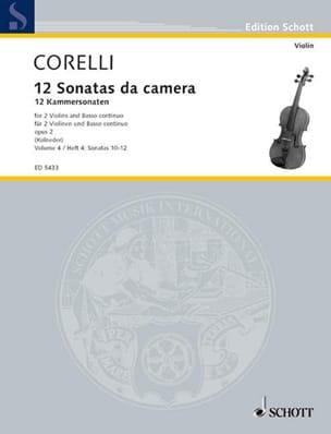 CORELLI - 12 Kammersonaten op. 2 - Bd. 2: Nr. 4-6 - 2 Violinen u. Bc - Sheet Music - di-arezzo.com