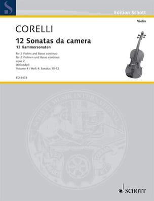 CORELLI - 12 Kammersonaten op. 2 - Bd. 4: Nr. 10-12 - 2 Violinen u. Bc - Sheet Music - di-arezzo.com