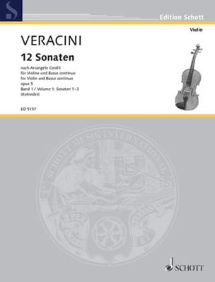 12 Sonaten nach Corelli op. 5, Bd. 1 - laflutedepan.com