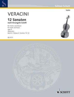 12 Sonaten nach Corelli op. 5, Bd. 4 laflutedepan
