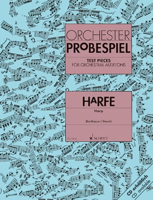 Orchester Probespiel - Harfe - Sheet Music - di-arezzo.co.uk