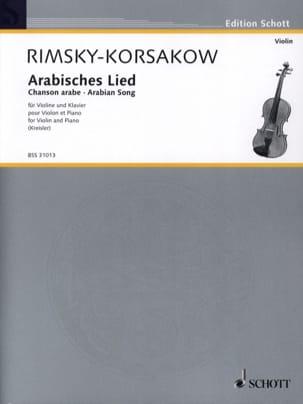 Arabisches Lied Rimsky-Korsakov Nikolai / Kreisler Fritz laflutedepan