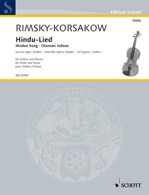 Nikolai Rimsky-Korsakov - Hindu-Lied: Hindu song - Sheet Music - di-arezzo.co.uk