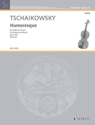 Humoresque - TCHAIKOVSKY - Partition - Violon - laflutedepan.com