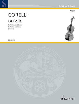 CORELLI - The Folia Kreisler - Sheet Music - di-arezzo.co.uk