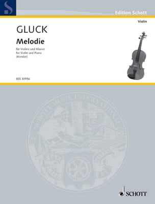 GLUCK - Melody - Sheet Music - di-arezzo.com