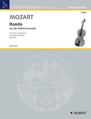 Mozart Wolfgang Amadeus / Kreisler Fritz - Rondo - Partition - di-arezzo.com