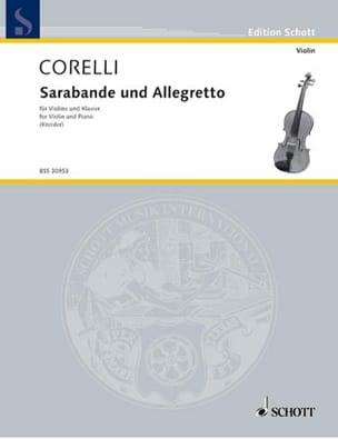 Corelli Arcangelo / Kreisler Fritz - Sarabande und Allegretto - Partition - di-arezzo.fr