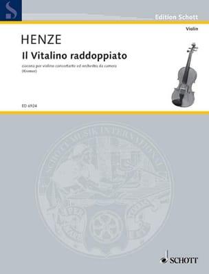 Il Vitalino raddoppiato 1977 - Hans Werner Henze - laflutedepan.com