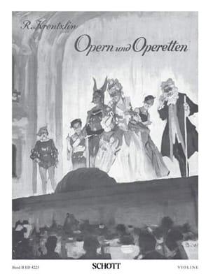 Richard Krentzlin - Opern und Operetten Bd 2 - Violone - Sheet Music - di-arezzo.co.uk