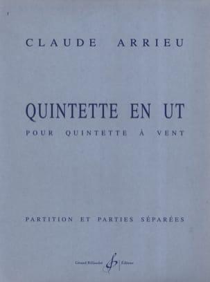 Claude Arrieu - Quintette En Ut - Partition & Parties - Partition - di-arezzo.fr