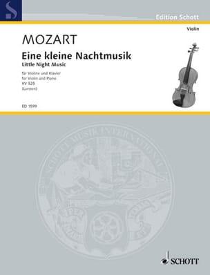 Eine kleine Nachtmusik KV 525 - Violine Klavier MOZART laflutedepan