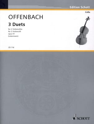 Jacques Offenbach - 3 Duette op. 51 - Sheet Music - di-arezzo.co.uk