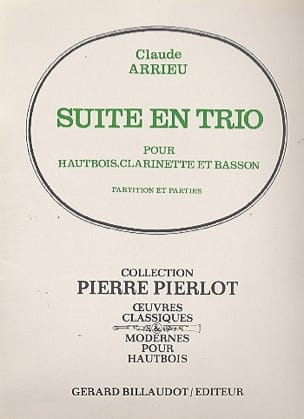 Claude Arrieu - Suite En Trio - Partition - di-arezzo.fr