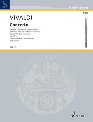 VIVALDI - Concerto C-Dur op. 8/12 (RV 449- Oboe Klavier - Partitura - di-arezzo.it